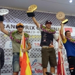 Kevin Reiterer auf dem Podium in China